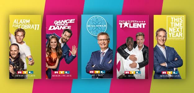 RTL Season Herbst TV Porgramm