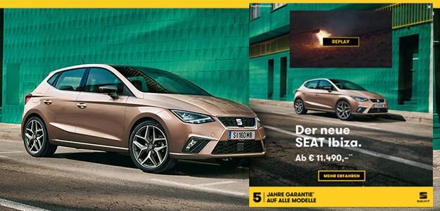 SEAT Ibiza Markteinführung