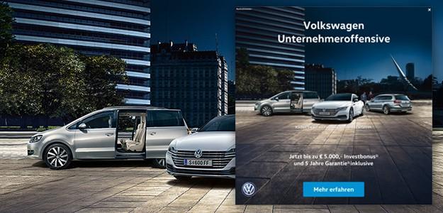 Volkswagen Unternehmeroffensive