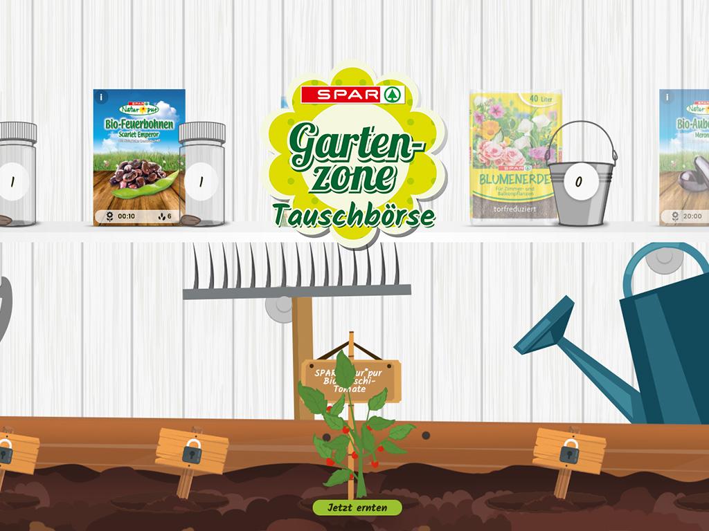 SPAR Gartenzone - Online Promotion