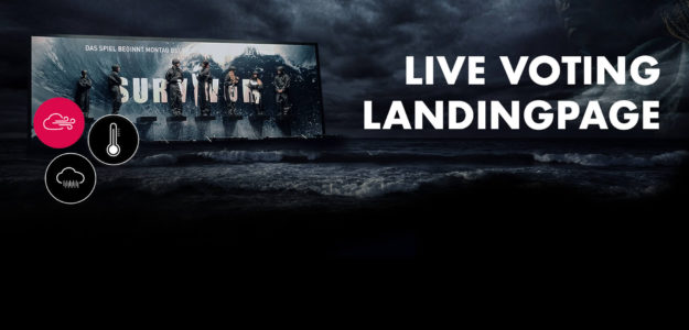 VOX Survivor Landingpage