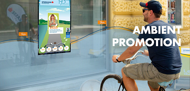 Ambient Promotion für Sparkasse OÖ